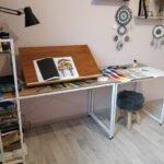 Bureau à dessin
