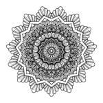 Mandala à colorier offert