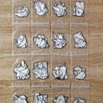 Les 16 lots de stickers