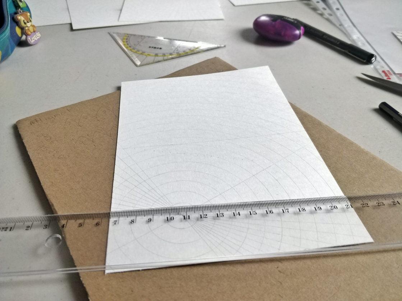 Création de cartes de voeux mandala