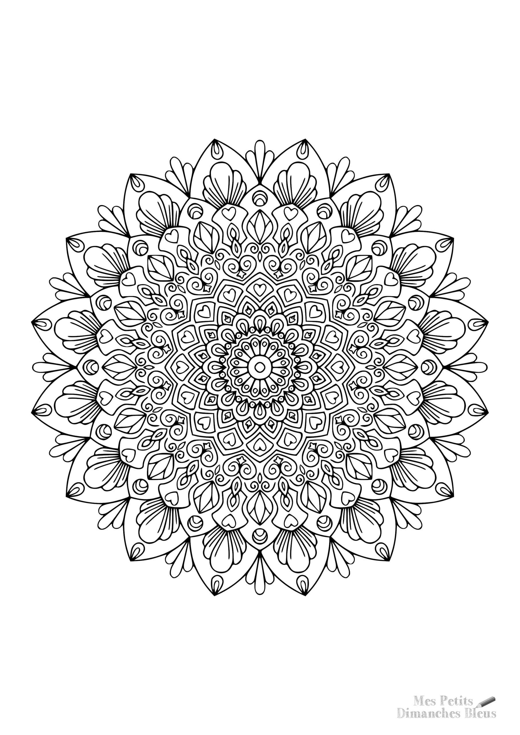 Mandala offert à télécharger