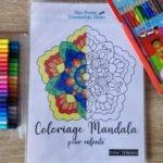 Pochette de mandalas à colorier pour enfants