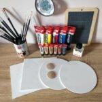 Mon matériel de peinture